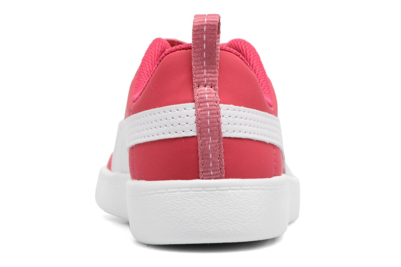 Baskets Puma Inf Courtflex / Ps Courtflex Rose vue droite