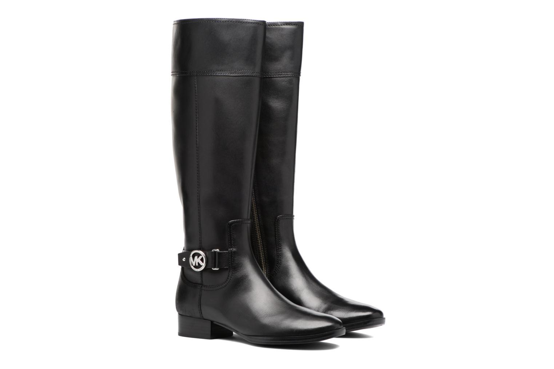 Bottes Michael Michael Kors Harland Boot Noir vue 3/4