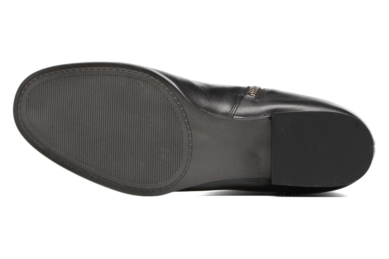 Bottes Michael Michael Kors Harland Boot Noir vue haut