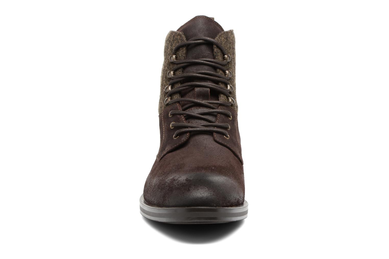 Bottines et boots Heyraud FRITZ Marron vue portées chaussures