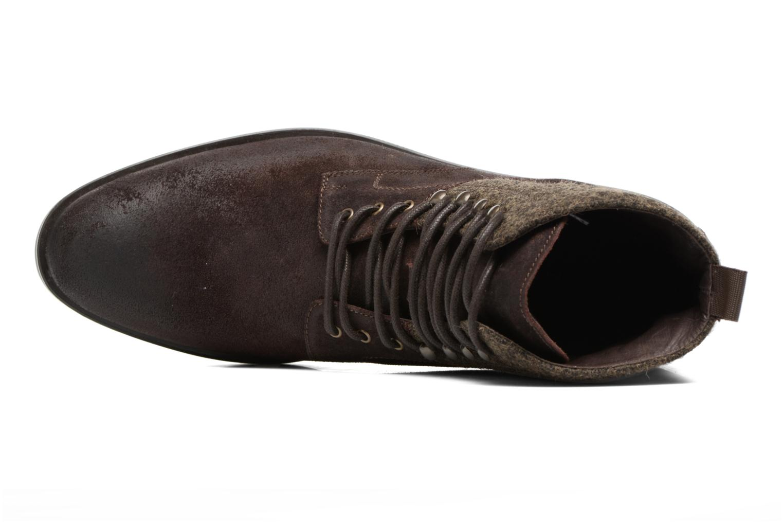 Bottines et boots Heyraud FRITZ Marron vue gauche
