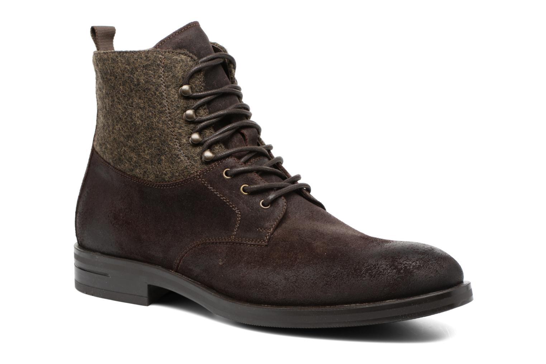 Bottines et boots Heyraud FRITZ Marron vue détail/paire