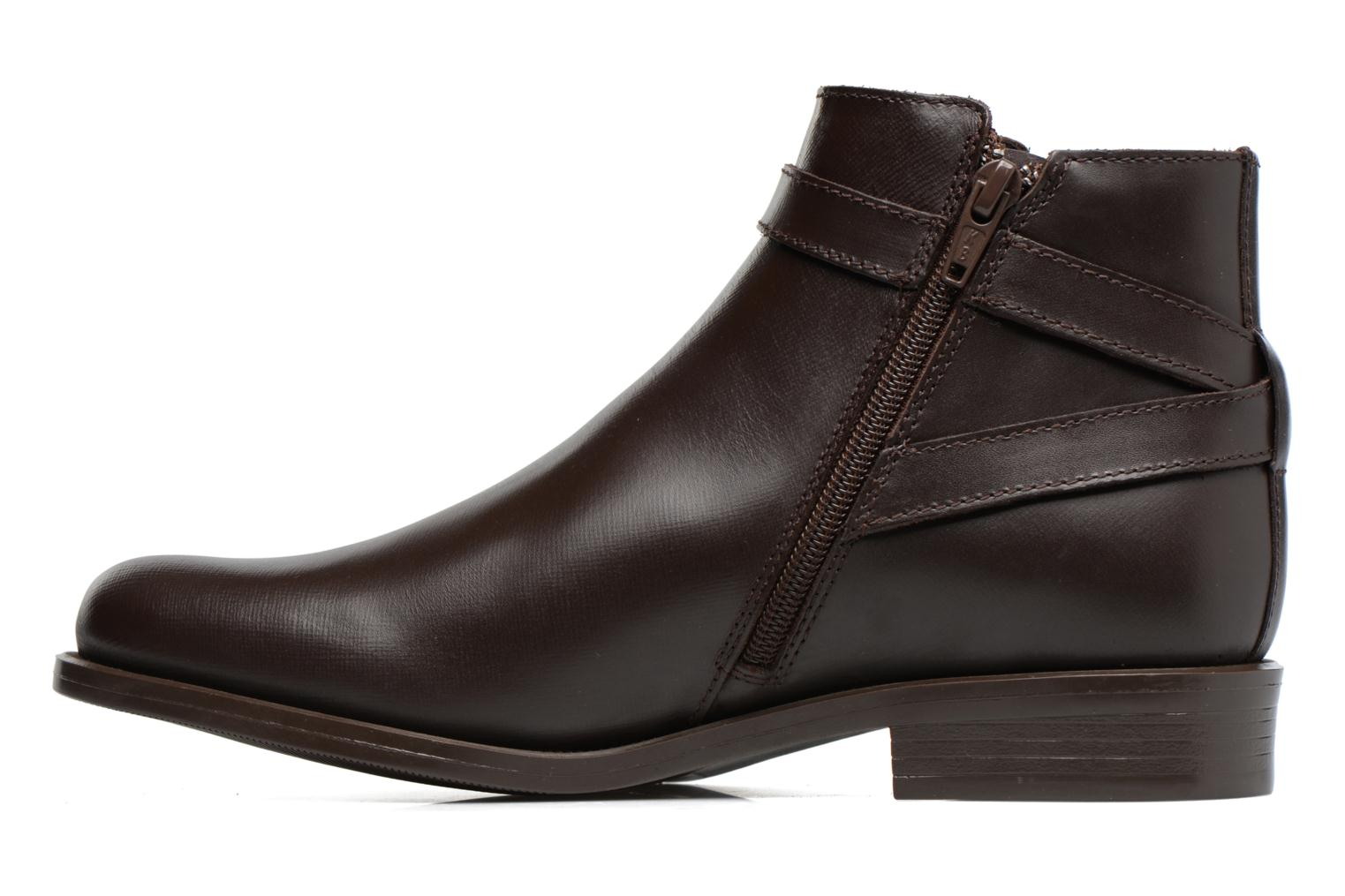 Ankle boots PintoDiBlu Nina Brown front view