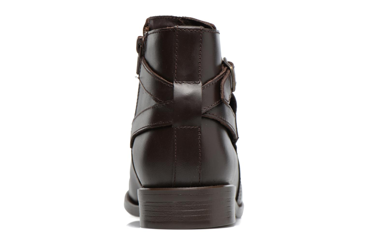 Ankle boots PintoDiBlu Nina Brown view from the right