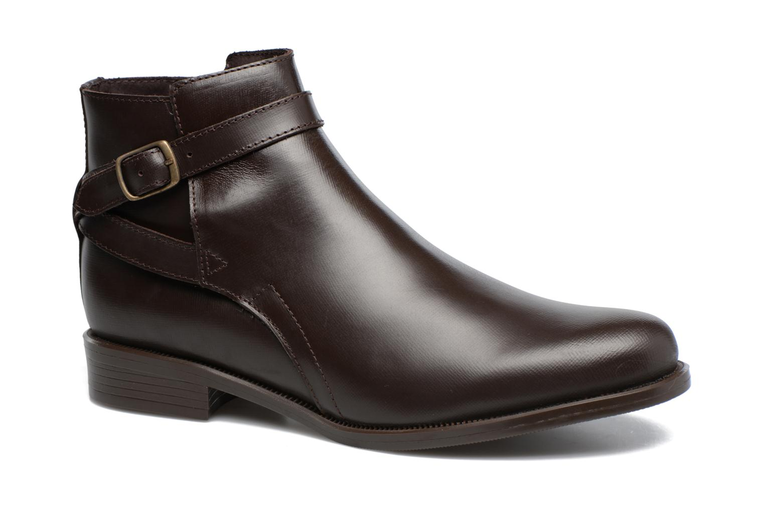 Ankle boots PintoDiBlu Nina Brown detailed view/ Pair view