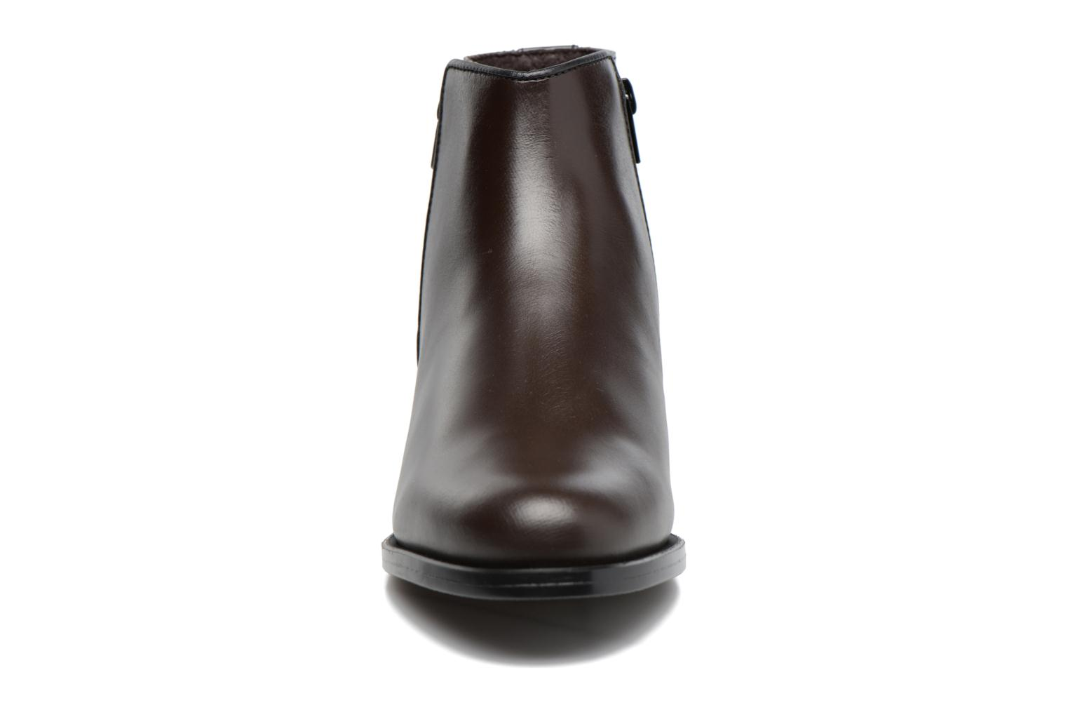 Ankle boots PintoDiBlu Andreala Brown model view