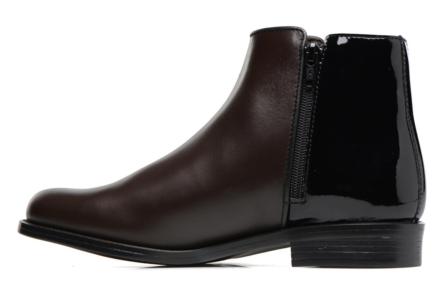Ankle boots PintoDiBlu Andreala Brown front view