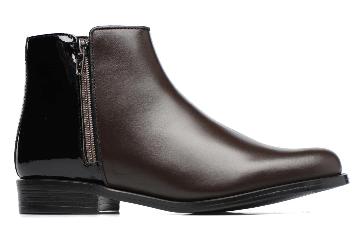 Ankle boots PintoDiBlu Andreala Brown back view