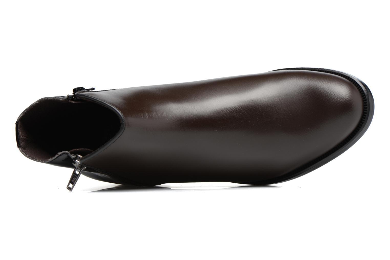 Bottines et boots PintoDiBlu Andreala Marron vue gauche