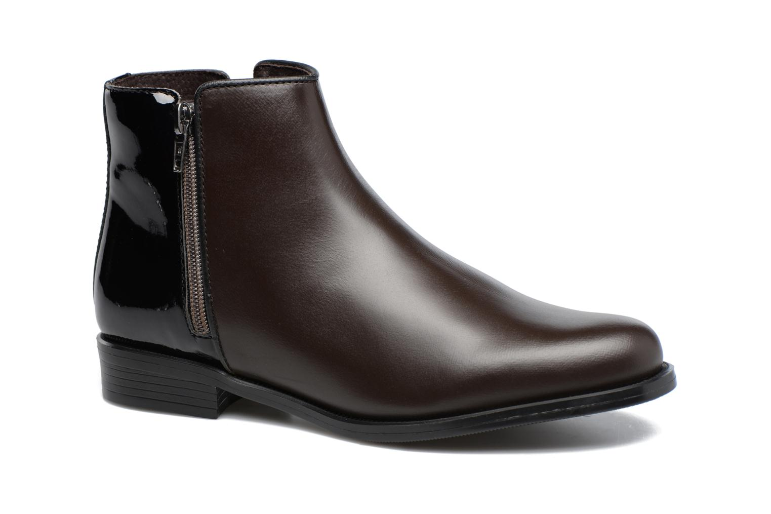 Ankle boots PintoDiBlu Andreala Brown detailed view/ Pair view