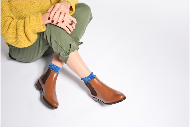 Bottines et boots PintoDiBlu Coralina Bleu vue bas / vue portée sac