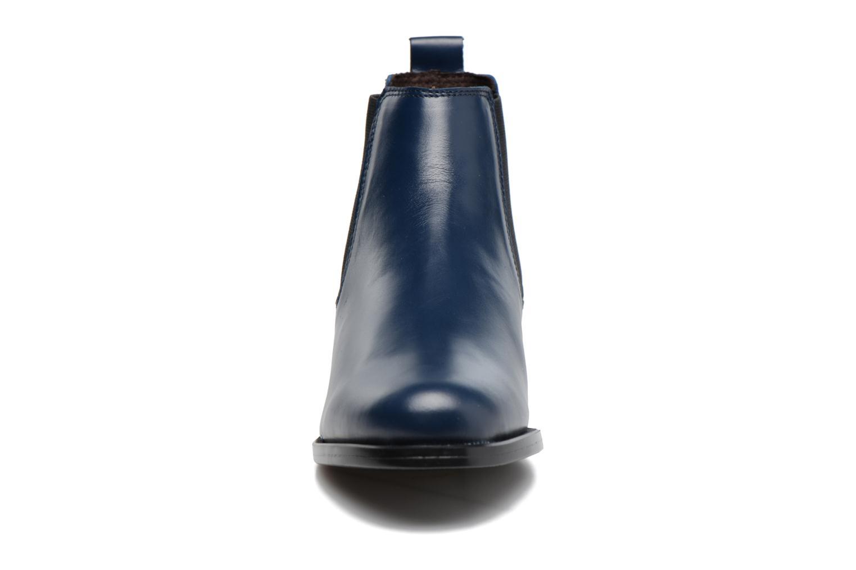 Bottines et boots PintoDiBlu Coralina Bleu vue portées chaussures