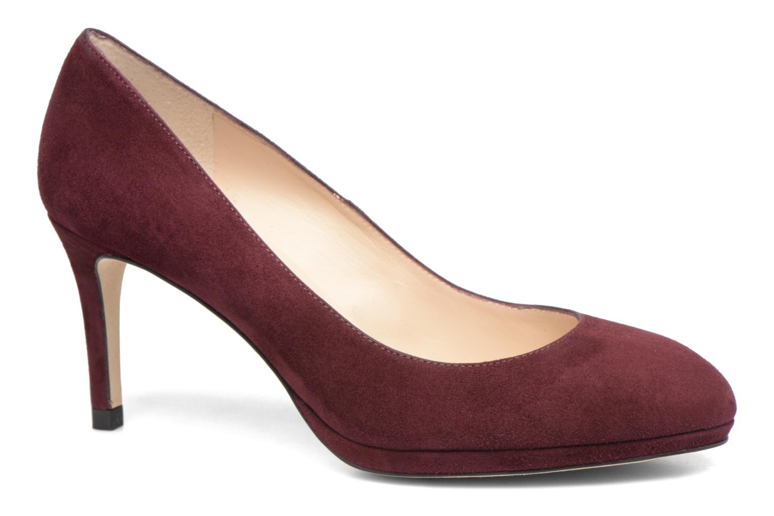 New Sybila Red Oxblood Suede