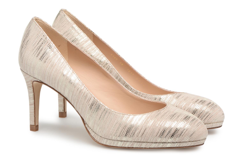High heels L.K. Bennett New Sybila Bronze and Gold 3/4 view