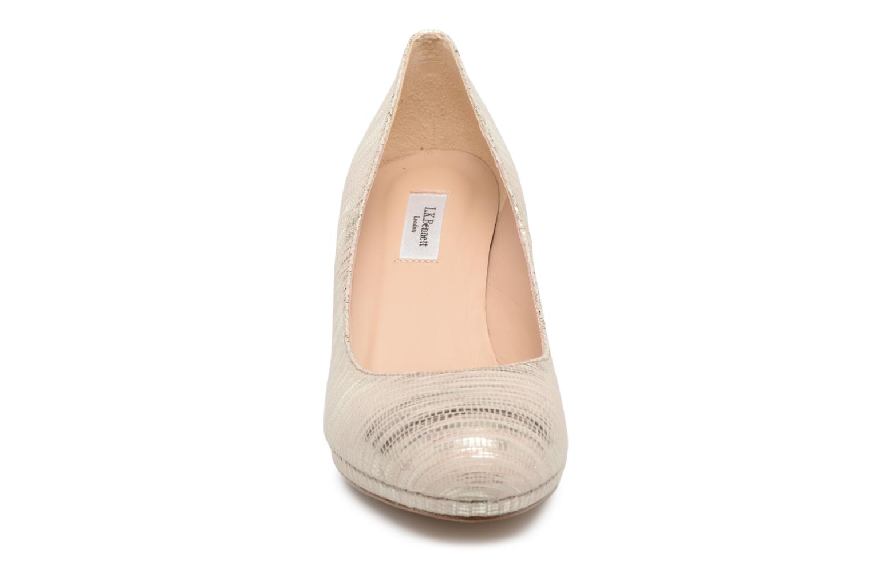 High heels L.K. Bennett New Sybila Bronze and Gold model view