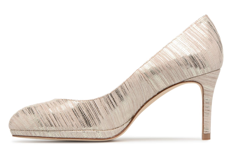 High heels L.K. Bennett New Sybila Bronze and Gold front view