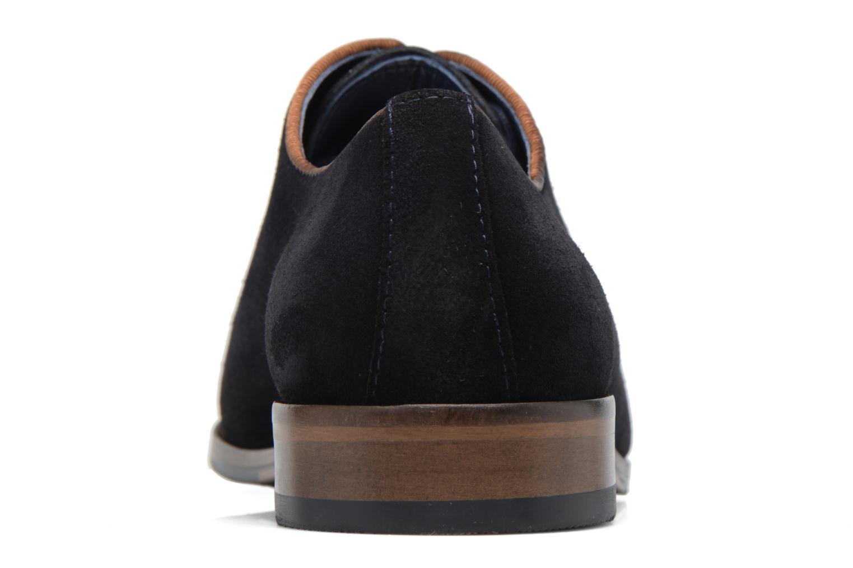 Chaussures à lacets Brett & Sons Charly Bleu vue droite