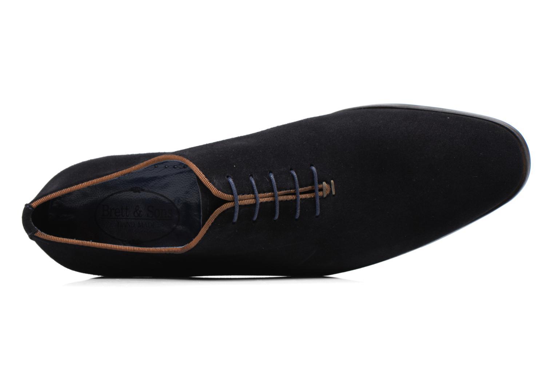 Chaussures à lacets Brett & Sons Charly Bleu vue gauche