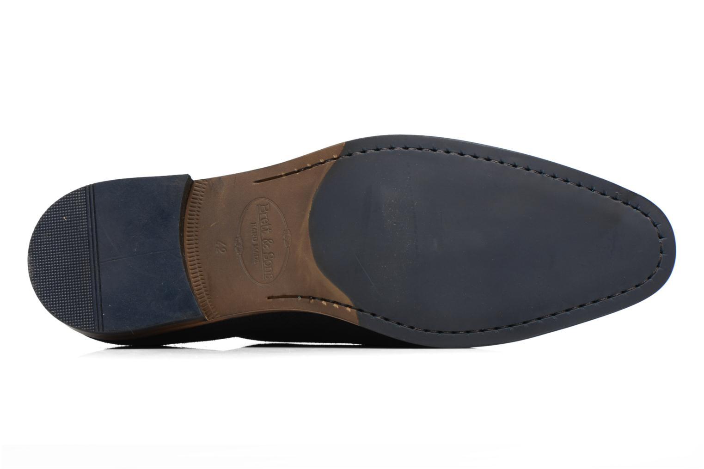 Chaussures à lacets Brett & Sons Charly Bleu vue haut