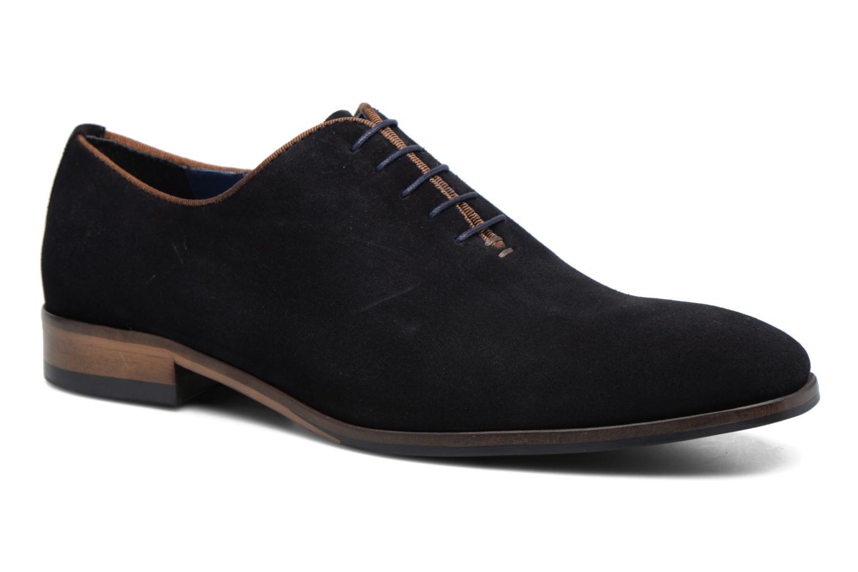 Chaussures à lacets Brett & Sons Charly Bleu vue détail/paire