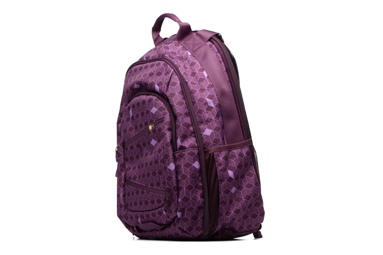 Scolaire Case Logic Case Logic Berkeley Backpack 15.6'' Violet vue portées chaussures