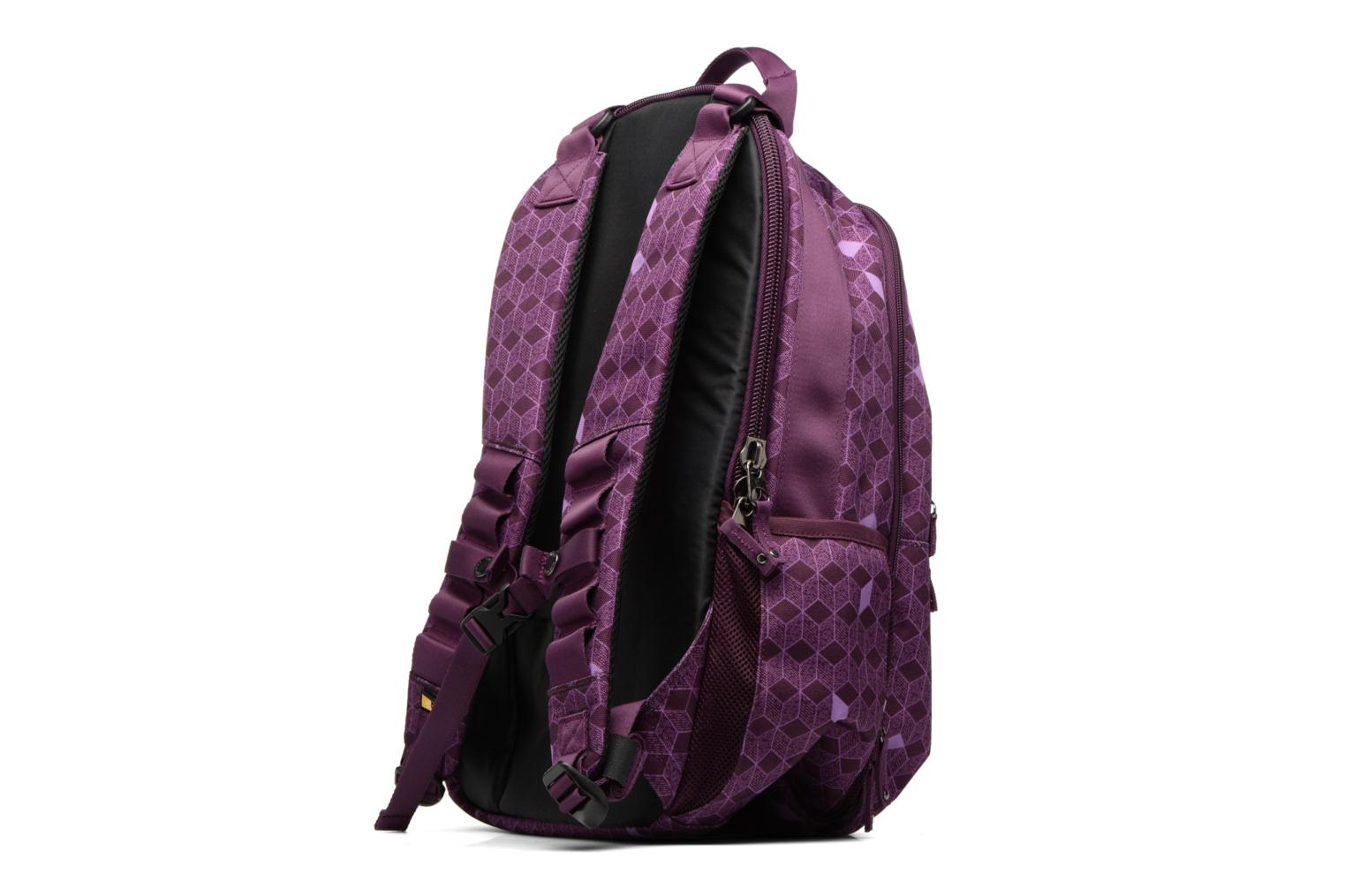 School bags Case Logic Case Logic Berkeley Backpack 15.6'' Purple view from the right
