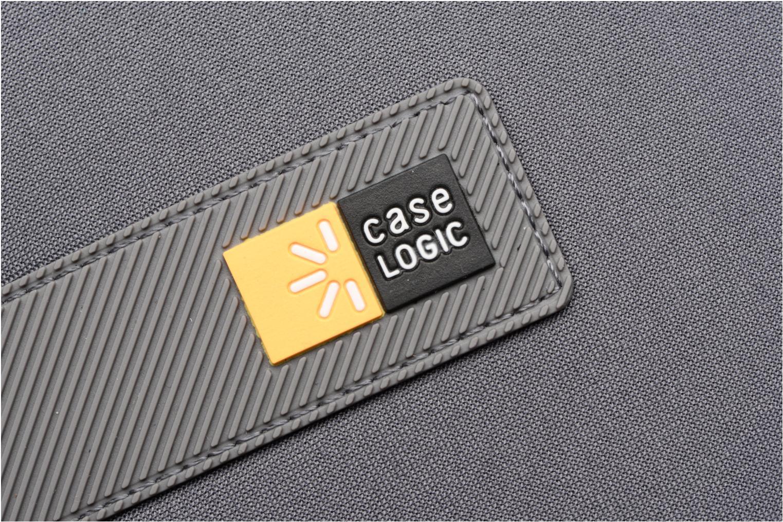 "Petite Maroquinerie Case Logic EVA-foam 14""  Notebook Sleeve, slim-line, Graphite Gris vue gauche"