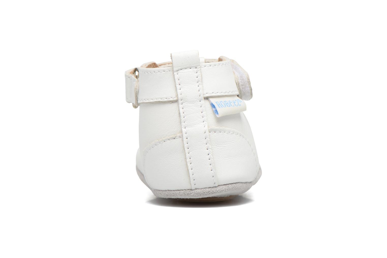 Chaussons Robeez Mini Toe Blanc vue droite