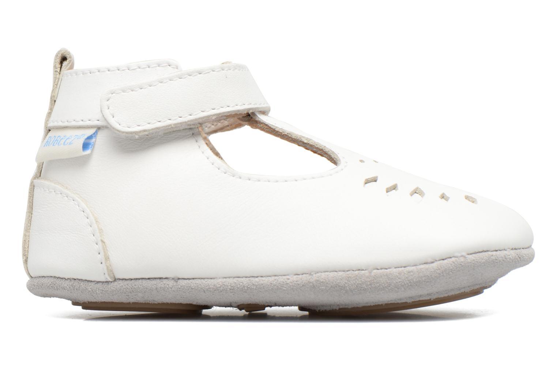 Chaussons Robeez Mini Toe Blanc vue derrière