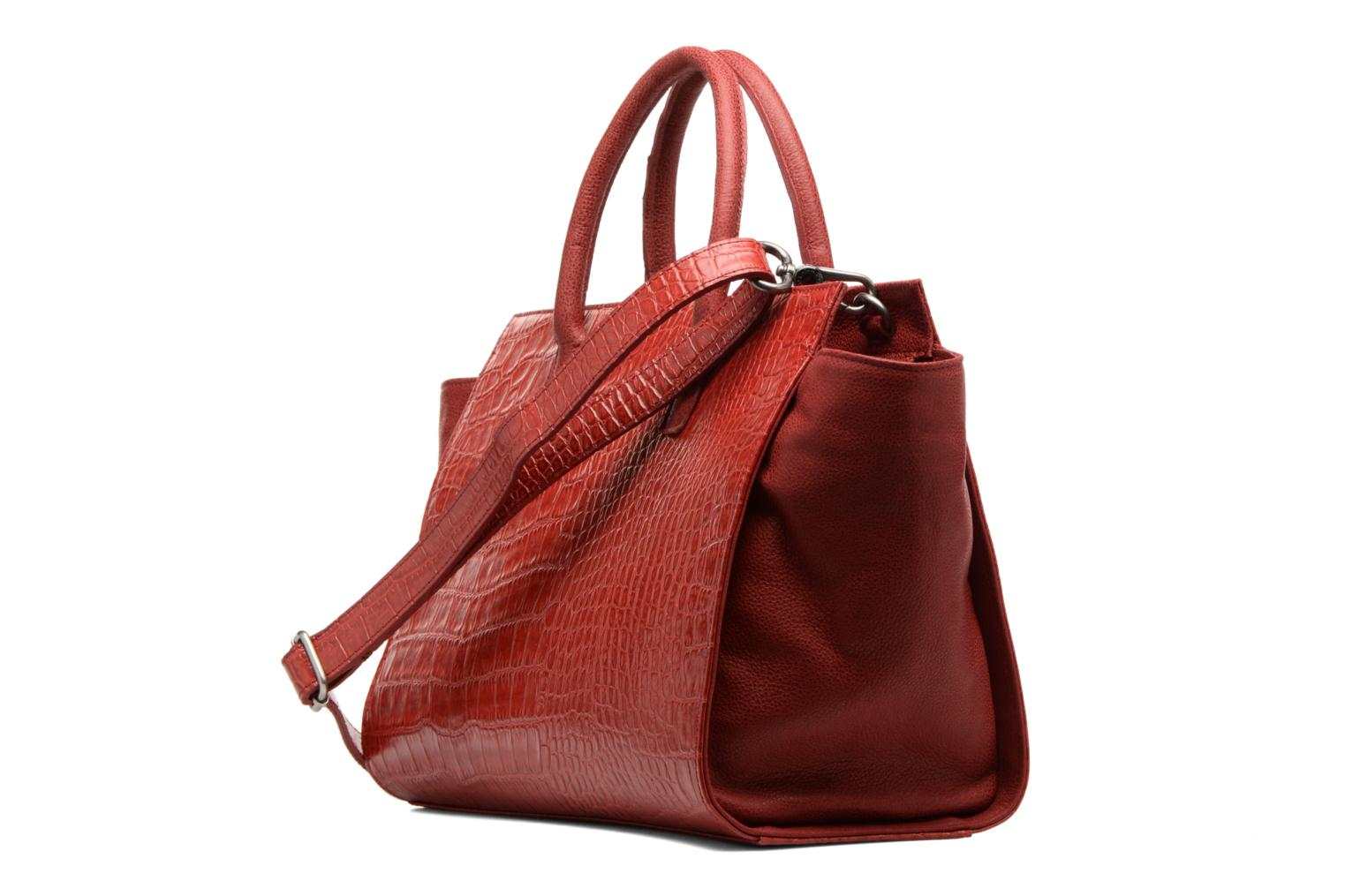 Handbags Nat & Nin Gisèle Red view from the right