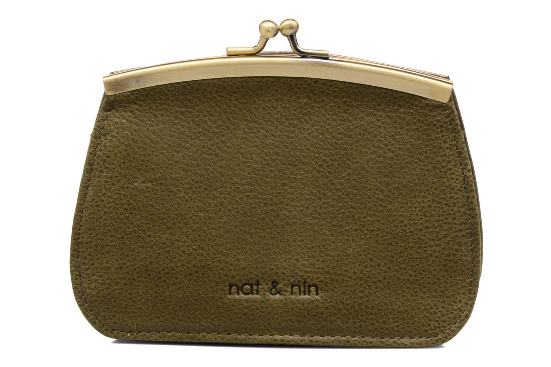 Petite Maroquinerie Nat & Nin Hope Vert vue détail/paire