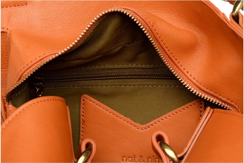 Handtassen Nat & Nin Louise Geel achterkant
