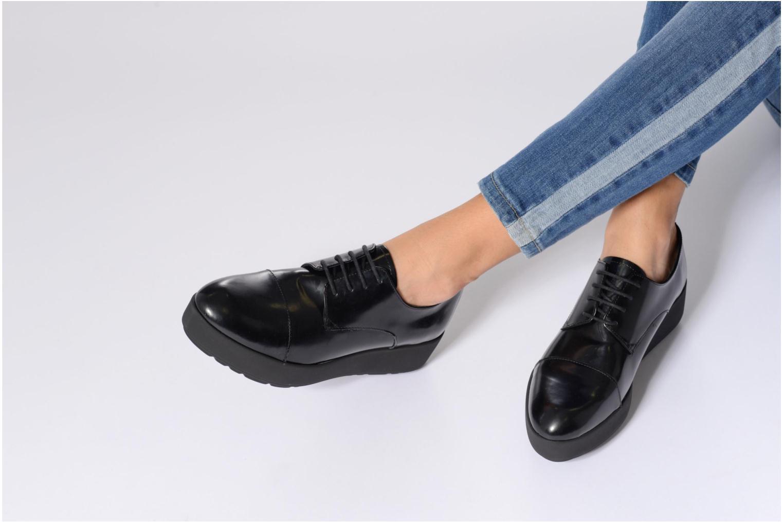 Zapatos con cordones Elizabeth Stuart Cid 308 Negro vista de abajo