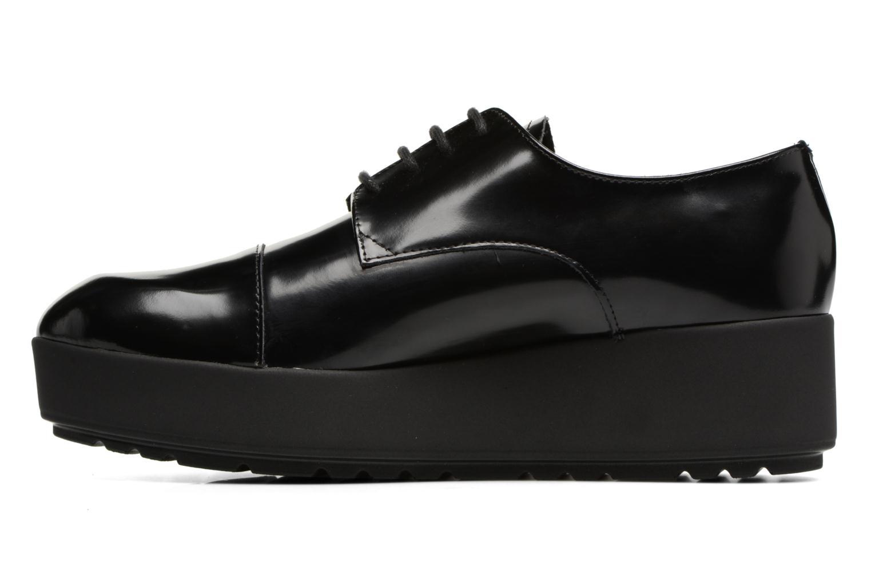 Zapatos con cordones Elizabeth Stuart Cid 308 Negro vista de frente