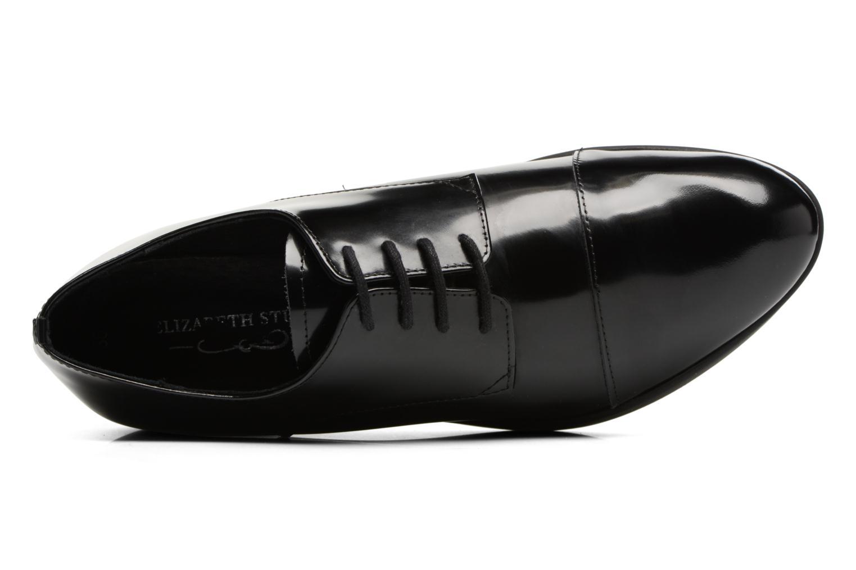 Zapatos con cordones Elizabeth Stuart Cid 308 Negro vista lateral izquierda
