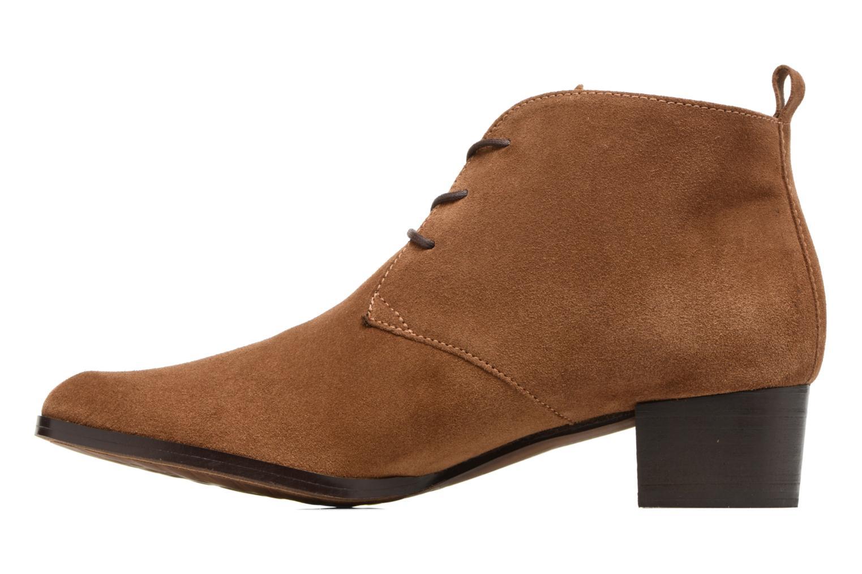Bottines et boots Elizabeth Stuart Ilis 334 Marron vue face