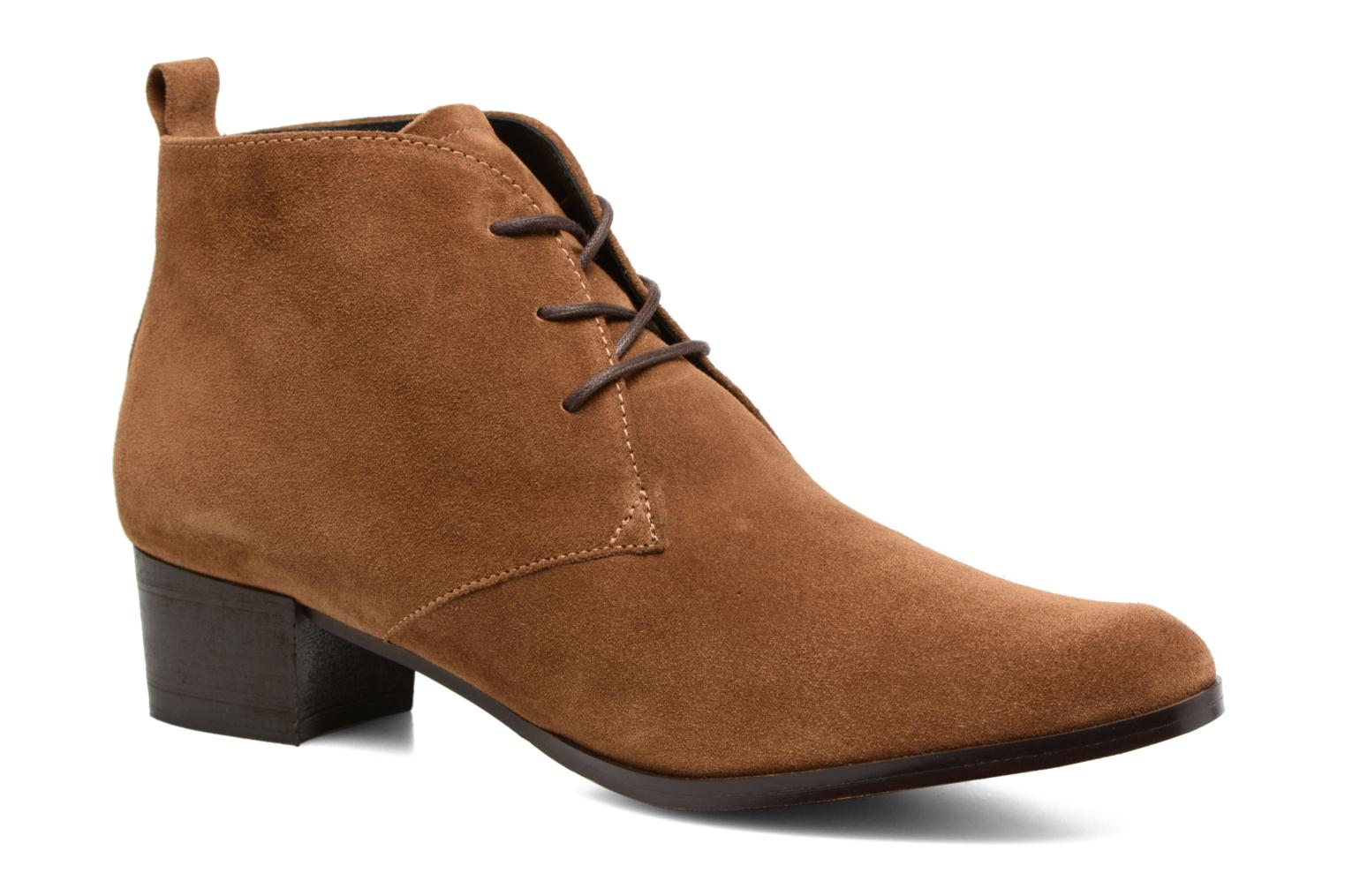 Bottines et boots Elizabeth Stuart Ilis 334 Marron vue détail/paire