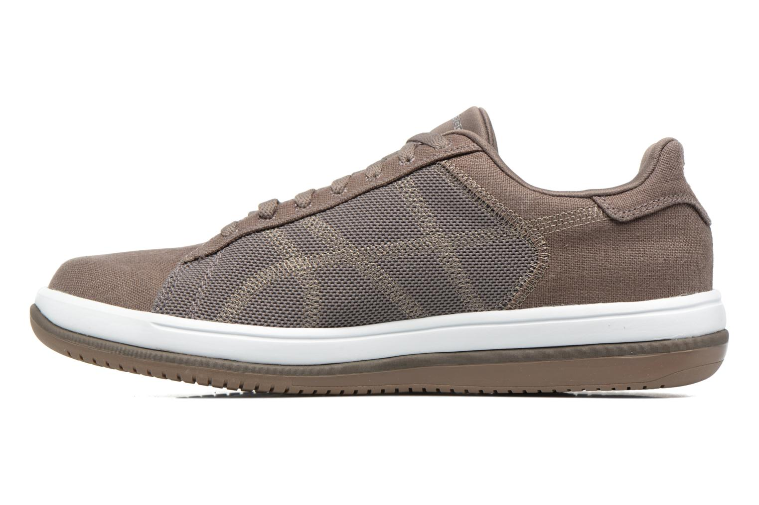 Trainers Skechers On the Go - Revolve Brown front view