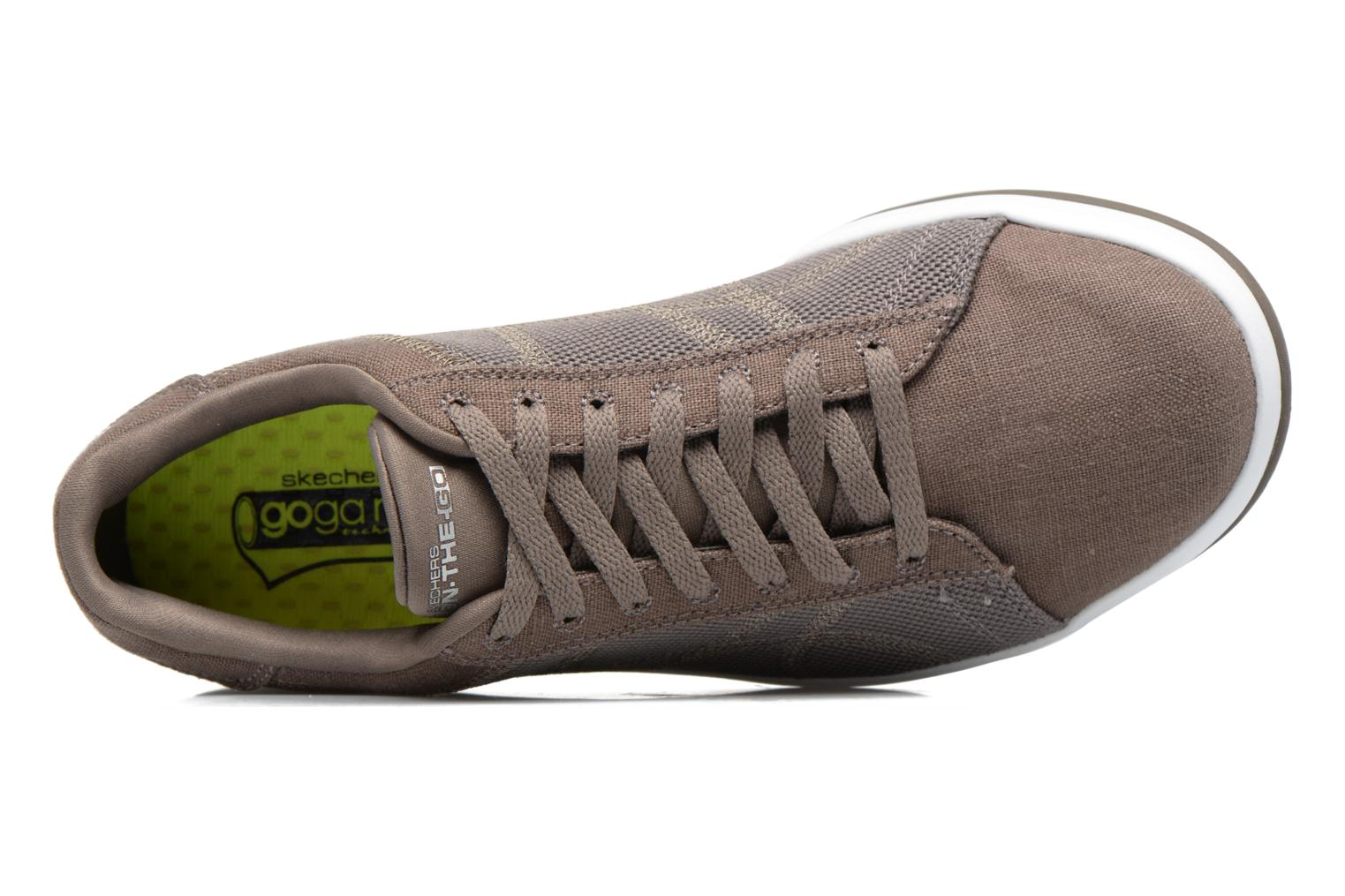 Trainers Skechers On the Go - Revolve Brown view from the left