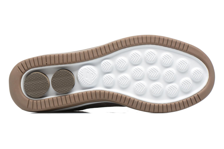 Baskets Skechers On the Go - Revolve Marron vue haut