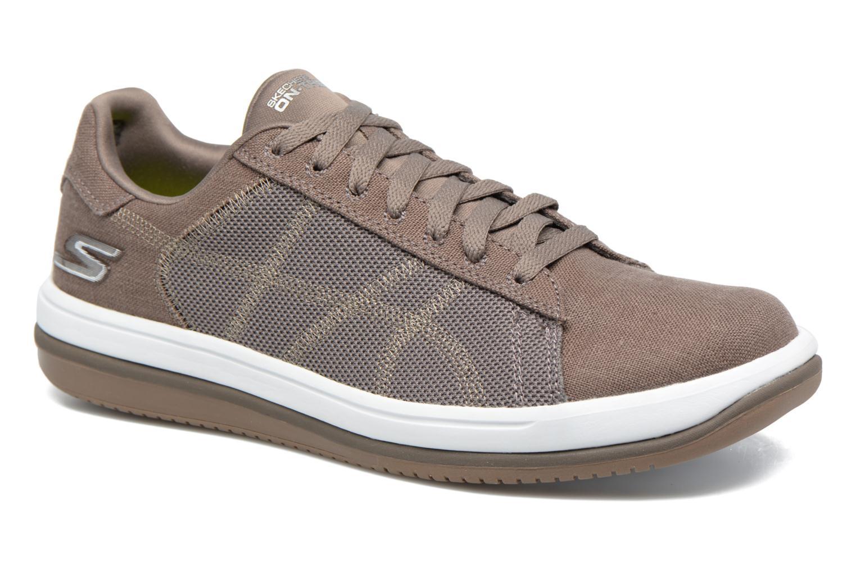 Baskets Skechers On the Go - Revolve Marron vue détail/paire