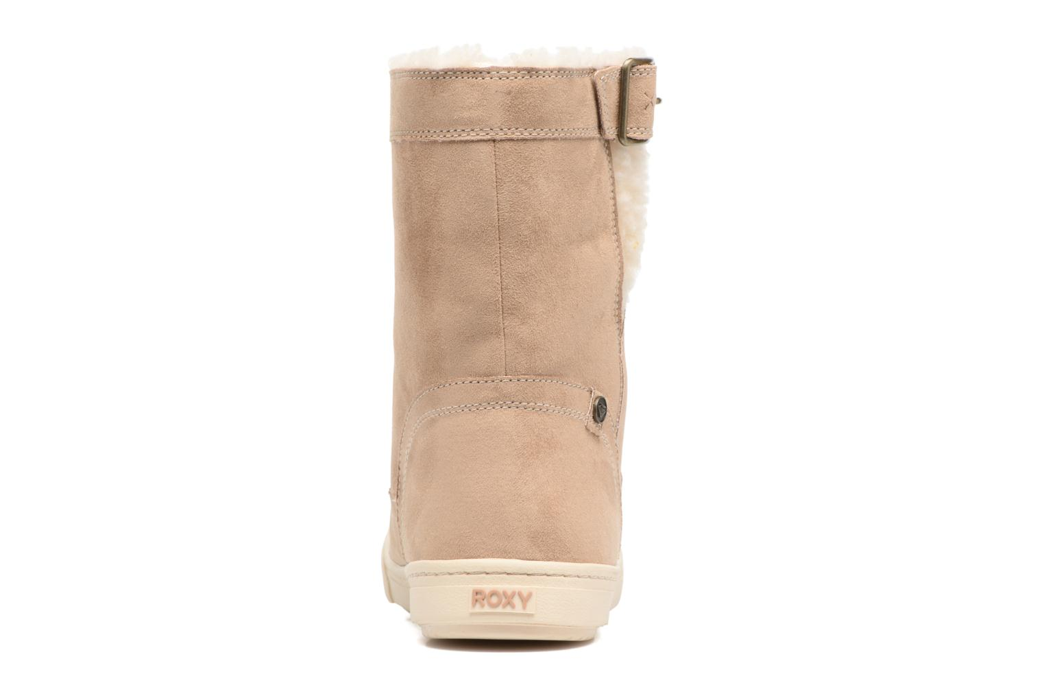 Boots & wellies Roxy Black Mid Beige view from the right