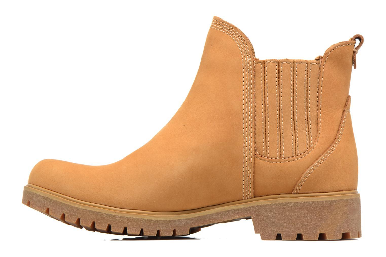 Bottines et boots Timberland Lyonsdale Chelsea Marron vue face