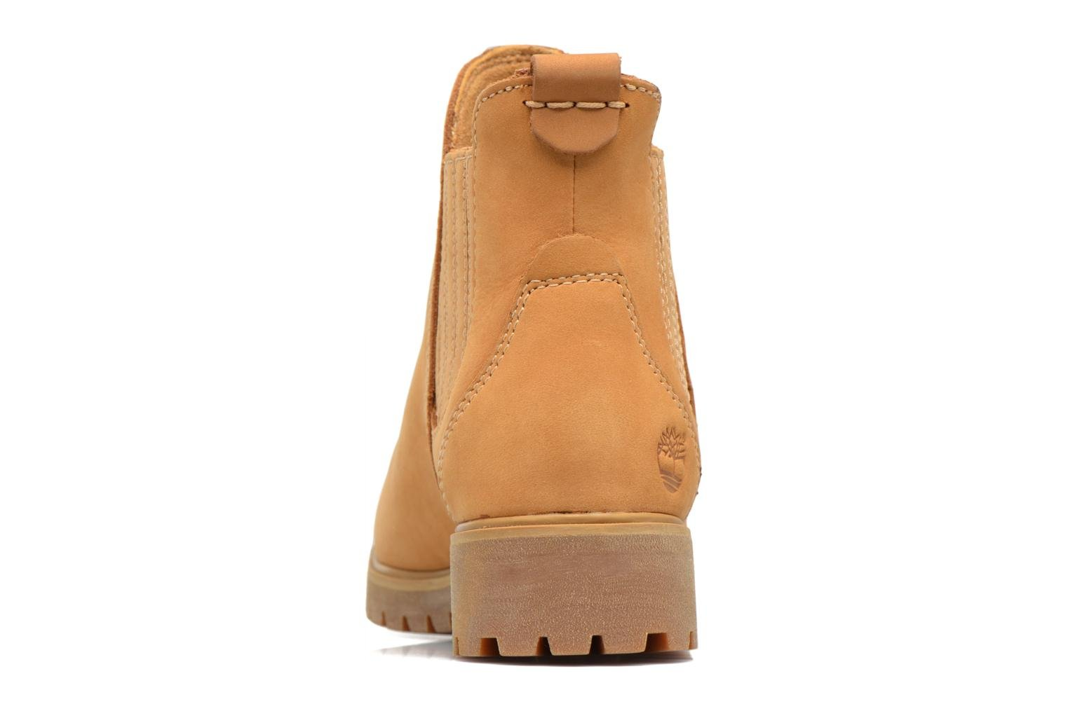 Ankle boots Timberland Lyonsdale Chelsea Brown view from the right