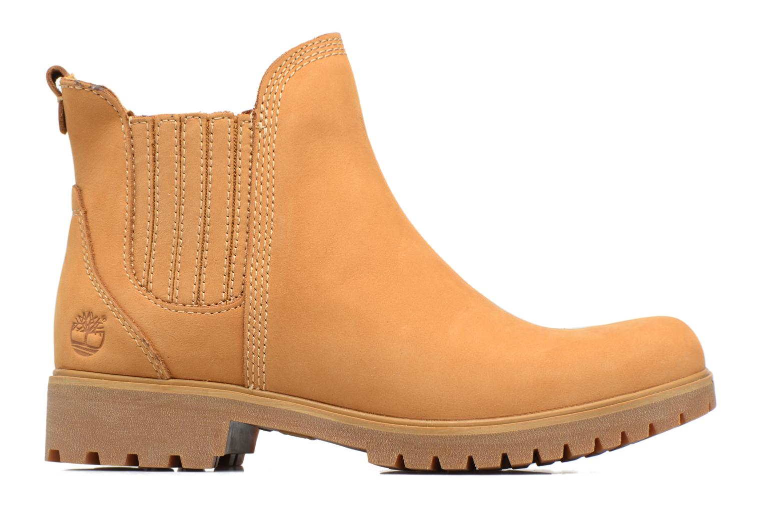 Ankle boots Timberland Lyonsdale Chelsea Brown back view