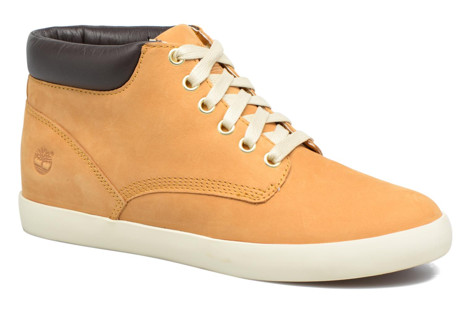 Flannery Chukka With Collar Wheat Nubuck