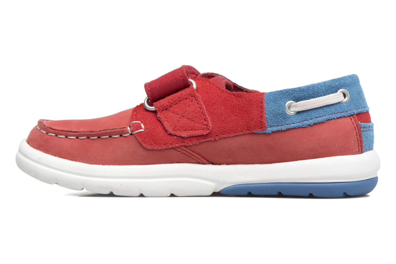 Sneakers Timberland Toddletracks Boat Sh Rood voorkant