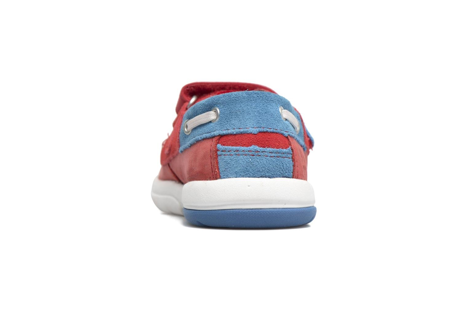 Sneakers Timberland Toddletracks Boat Sh Rood rechts