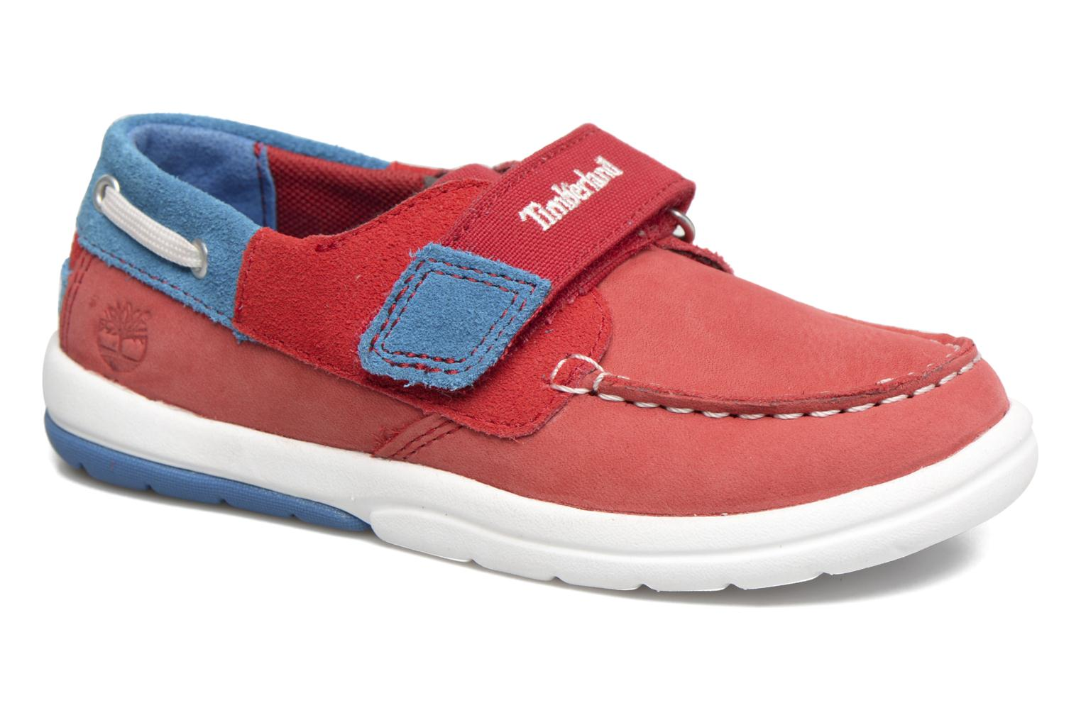 Baskets Timberland Toddletracks Boat Sh Rouge vue détail/paire