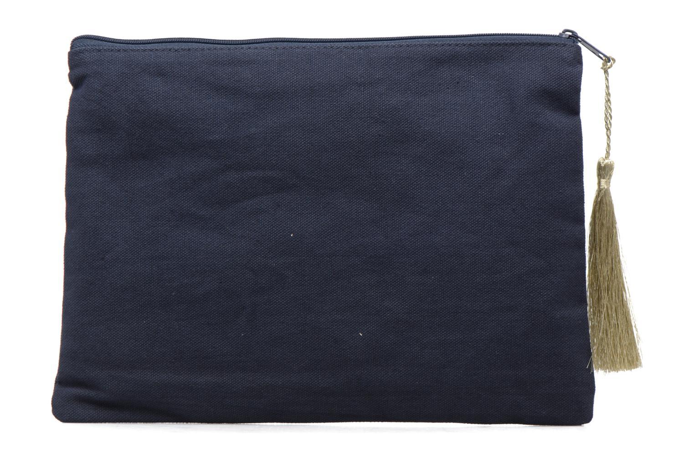 Petite Maroquinerie Petite mendigote Pochette Kit de Survie Bleu vue face